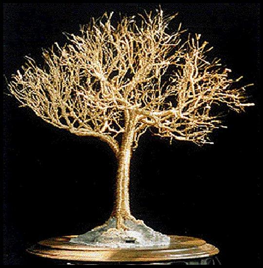 Как сделать дерево своими руками из проволоки