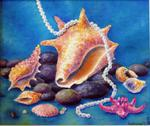 Tanya Andreeva - Oil Painting Sea Treasures