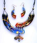Olexandr Boyarko Art Glass Jewellery - Gipsi-s Дороги