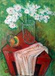 Ahmedov Zakir - ..White Flower 2016year40x30cmOriginal Painting Oil on Canvas 2500$