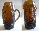 Bust Glass - Beer glass mug like a barbaric head (I found my old craftwork)